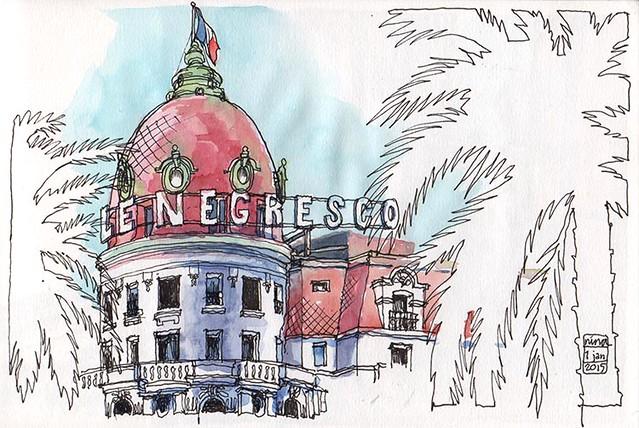 Le Negresco, Nice