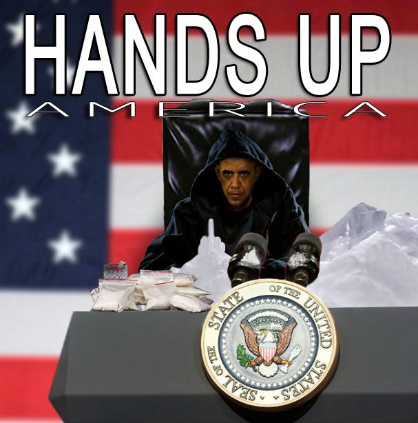 Obama - Hands Up America