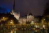 Sainte Chapelle and Palais de Justice, Paris by Night
