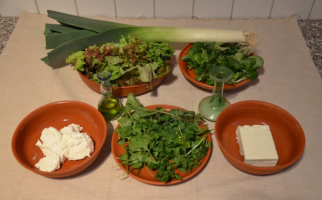 Ingredients: Mixtura cum Caseo (Cheese & Herb Purée)