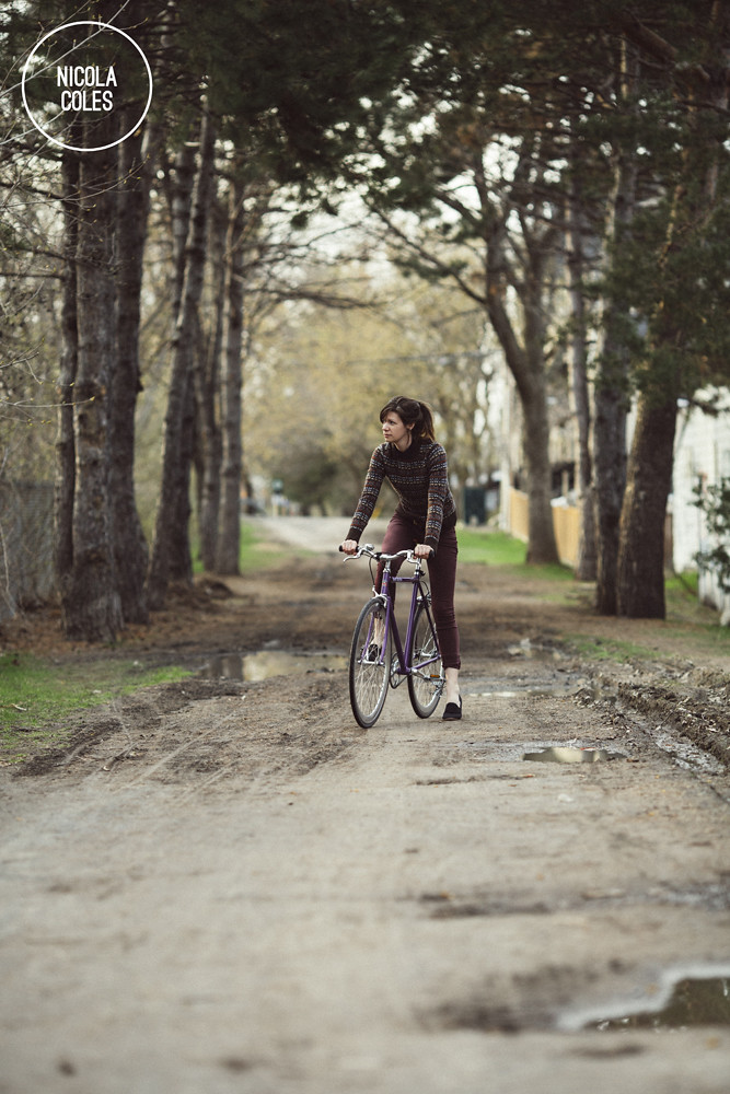 Nicola Coles and her Bicycle 16