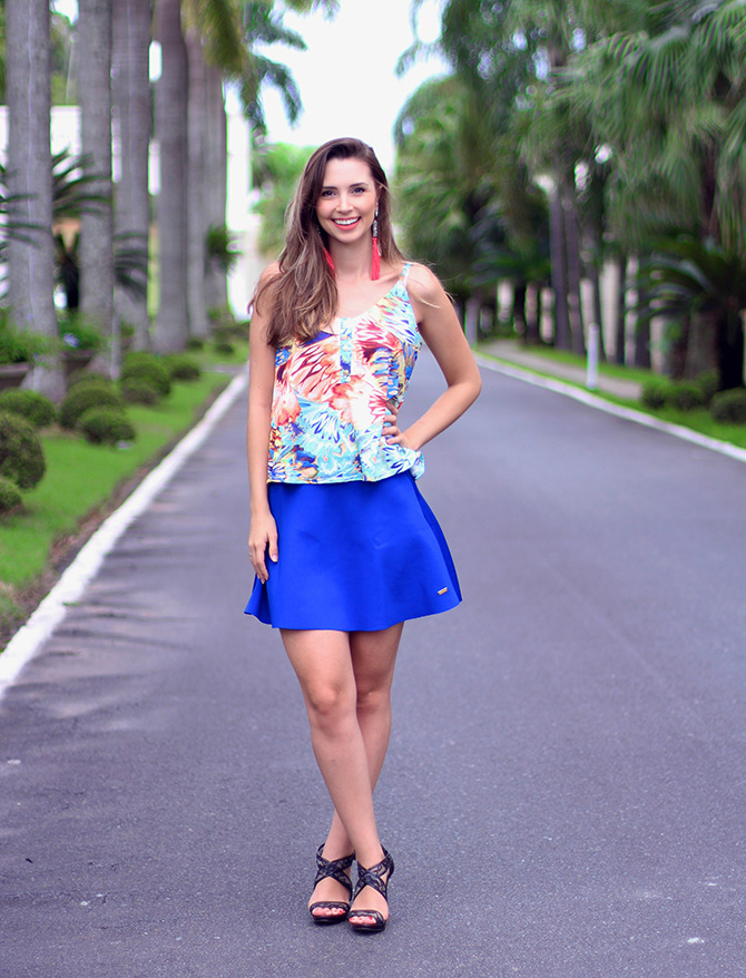 5-look com saia azul bic lamandinne blog sempre glamour