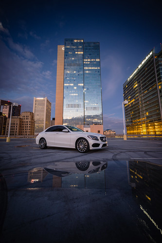 morning arizona detail phoenix sport sedan sunrise reflections mercedes benz downtown parkinggarage sony january az mercedesbenz chase bluehour luxury a7 chasetower lightroom usbank cclass reallyrightstuff 2015 cklasse 4matic c400 polarwhite freeportmcmoran phoenixrisingphotography adamschmid ononeperfectphotossuite9