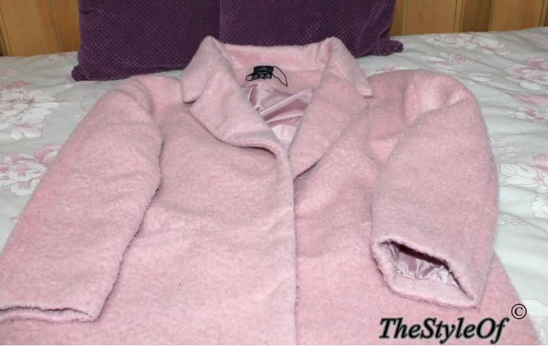 abrigo rosa primark