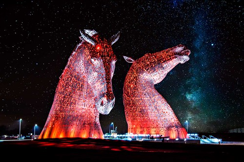 Kelpies and the Milky Way