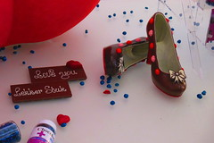 """Love you, lekker stuk!"" - Chocolate Louboutins"