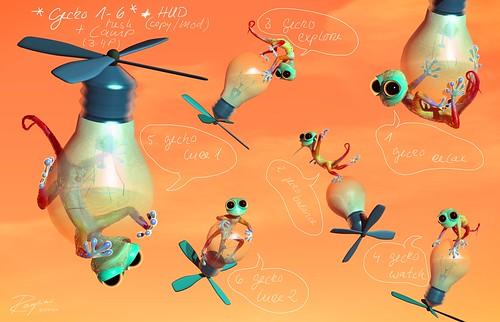 ROQUAI Gecko 1-6  !SOON!