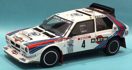 AutoArt Lancia Delta S4 Tour de Corse 1986