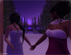 Alexia & Nikita 2 _ Tie the Knot Hunt & Purple Moon _ Location StarCrossed