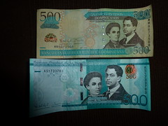 Currency of Dominican Republic 500RDS
