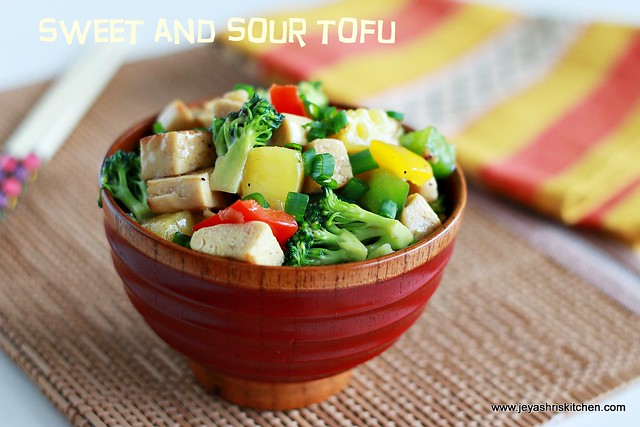 Tofu with veggies
