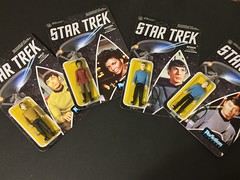 "chevy2who has added a photo to the pool:Even though the figures are so-so I'm a sucker for 3 3/4"" Star Trek figures. I can't wait for wave two for Scotty. And poor Chekhov no figure for him just yet. Maybe wave three we will see him."