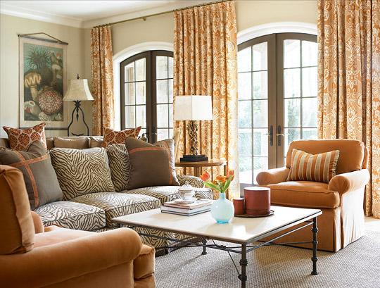 Decorating with Orange   #LivingAfterMidnite
