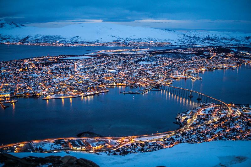 Tromso vista aérea