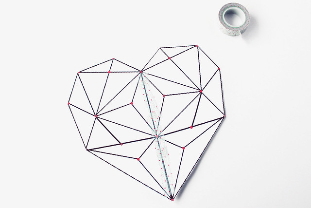DIY geometric heart string art 03
