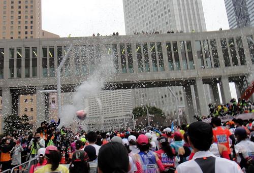 TOKYO-Marathon 2015-START
