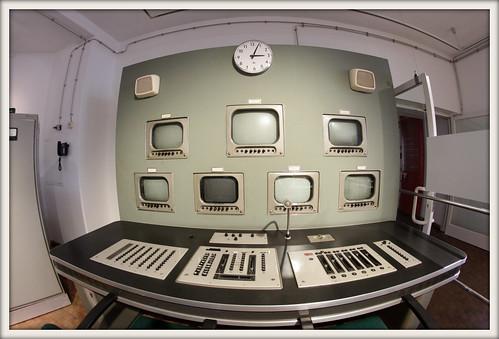 Fernsehregiepult 1956