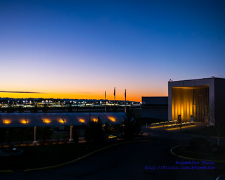 A Gorgeous Sunrise Breaks Over the Future of Flight & the Boeing Test Paine Field Flightline