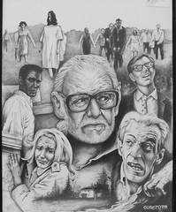 George Romero, Night of the Living Dead.