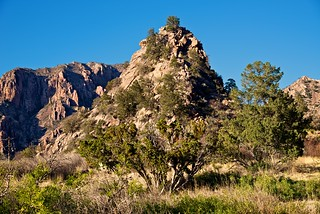Mountains and Hillsides in the Chisos Basin (Big Bend National Park)