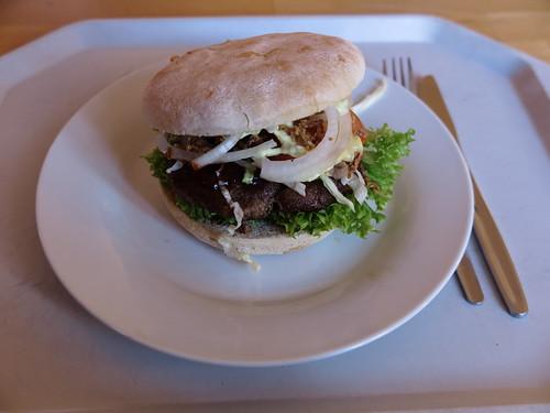 Burger im Cafe Neun (Campus Lüneburg)