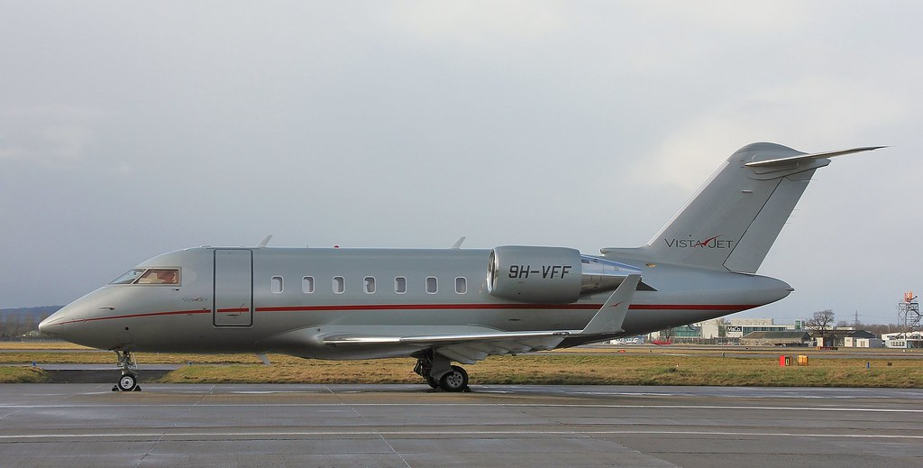 9H-VFF - CL60 - VistaJet