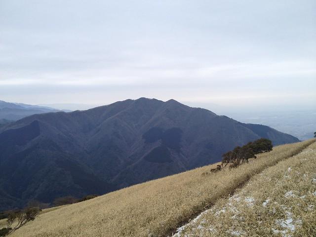 入道ヶ岳より雲母峰