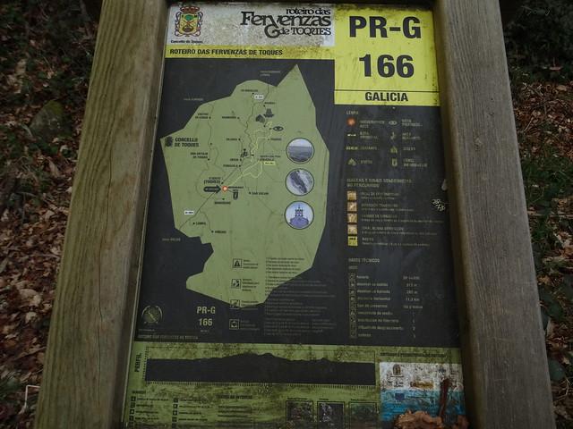 Panel Inicio PR-G 166 Roteiro das Fervenzas de Toques