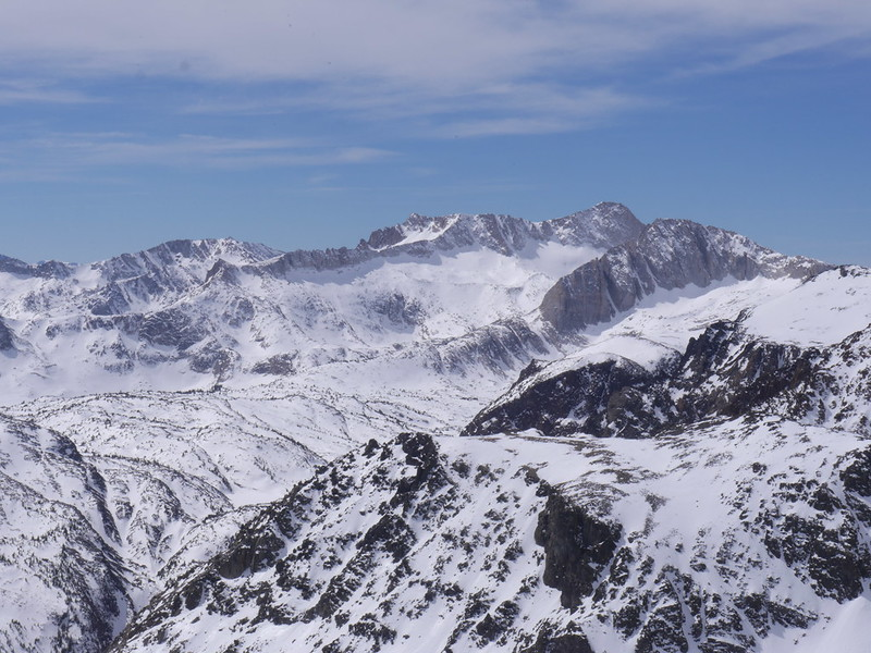 Conness and North peak