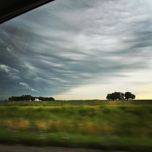 #latergram from a road trip a few weeks ago, just before the storm let loose. 1 of 2.