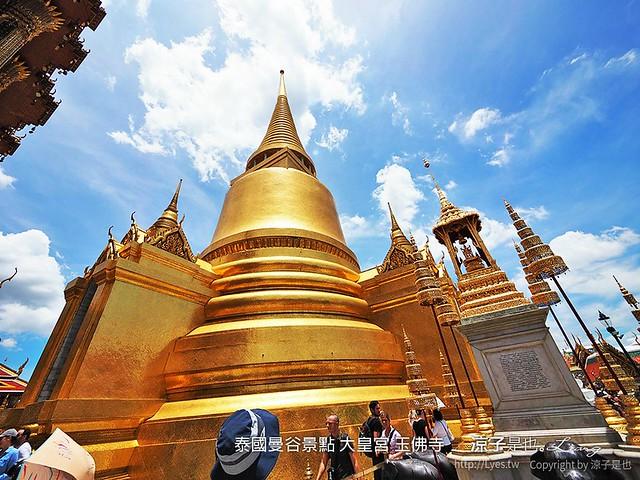 泰國曼谷景點 大皇宮 玉佛寺  94