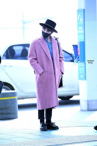 Big Bang - Incheon Airport - 21mar2015 - G-Dragon - avril_gdtop - 07