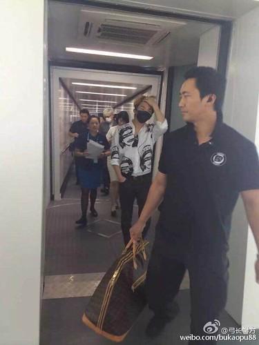 BIGBANG ARRIVAL 2015-08-07 Shenzhen by bukaopu88 (9)