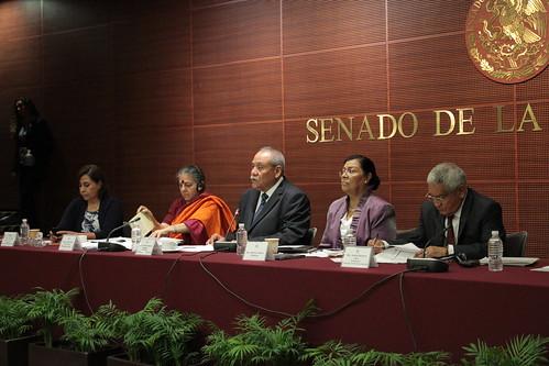 El día 10 de agosto se llevó a cabo en el Senado de la República el Foro internacional: Semillas, propiedad intelectual y transgénicos en el Acuerdo de Asociación Transpacífico.