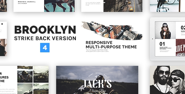 Brooklyn v4.2.4 – Responsive Multi-Purpose WordPress Theme