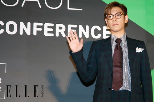 TOP - Secret Message Taiwan Press Conference - 06nov2015 - Elle Taiwan - 05