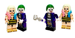 LEGO Joker and Harley Quinn Minifigures of Suicide Squad Ver. by HOBBYBRICK