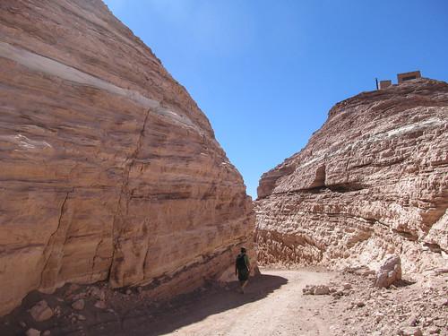 Le désert d'Atacama: el Valle de la Muerte (la Vallée de la Mort). Adios !