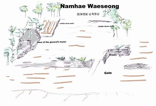 Namhae Waeseong 남해왜성, 南海倭城