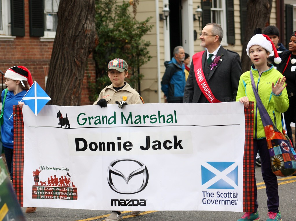 Scottish Parade Grand Marshal