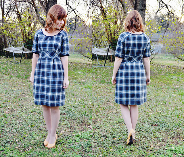 Colette Patterns Dahlia Dress - Version 1