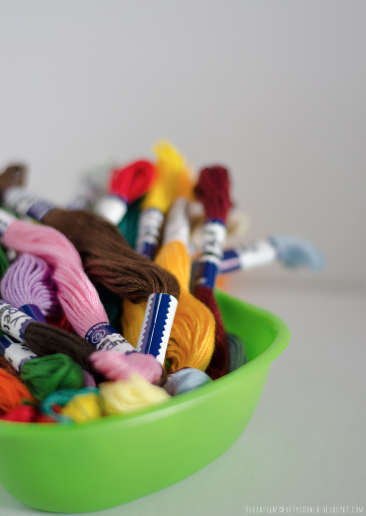My Craft Room: Organizing Embroidery Threads