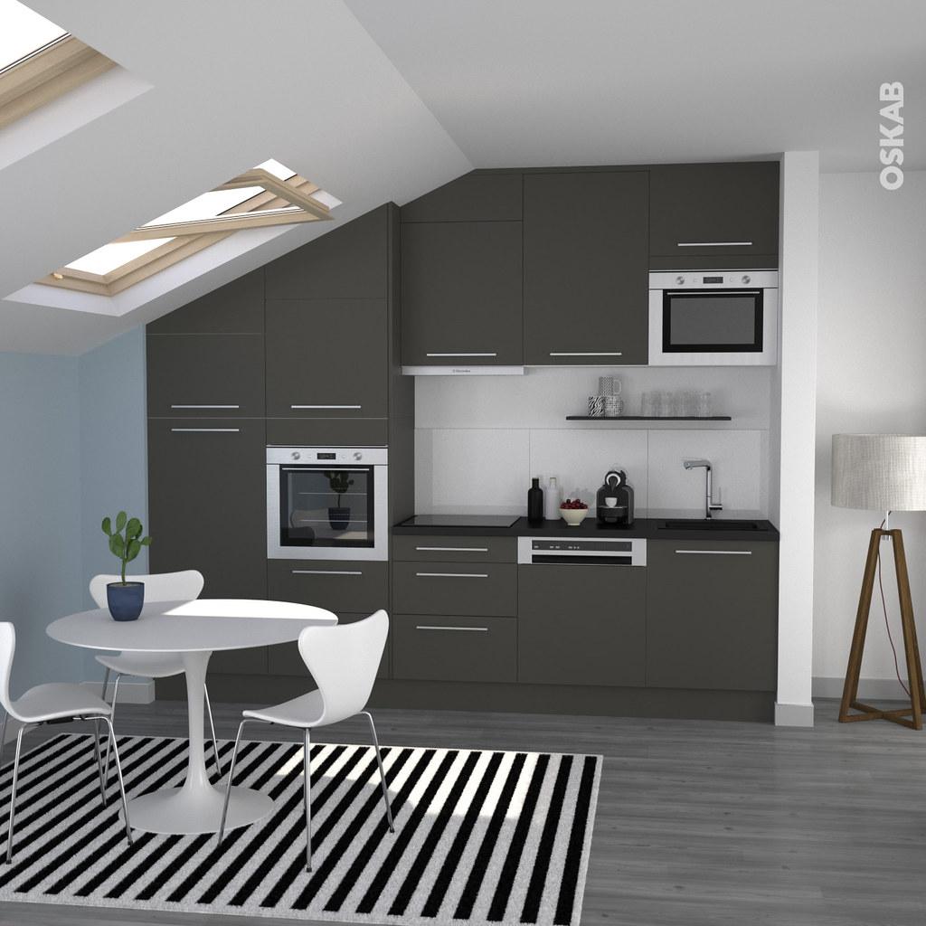 Ide de cuisine moderne salon mur bleu canard photos et - Cuisiniste les herbiers ...