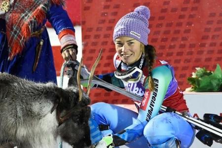 Slalom žen v Levi: královna v nedbalkách