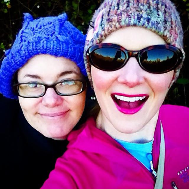 Me and my Broad (❤️ @corinne_spoja).