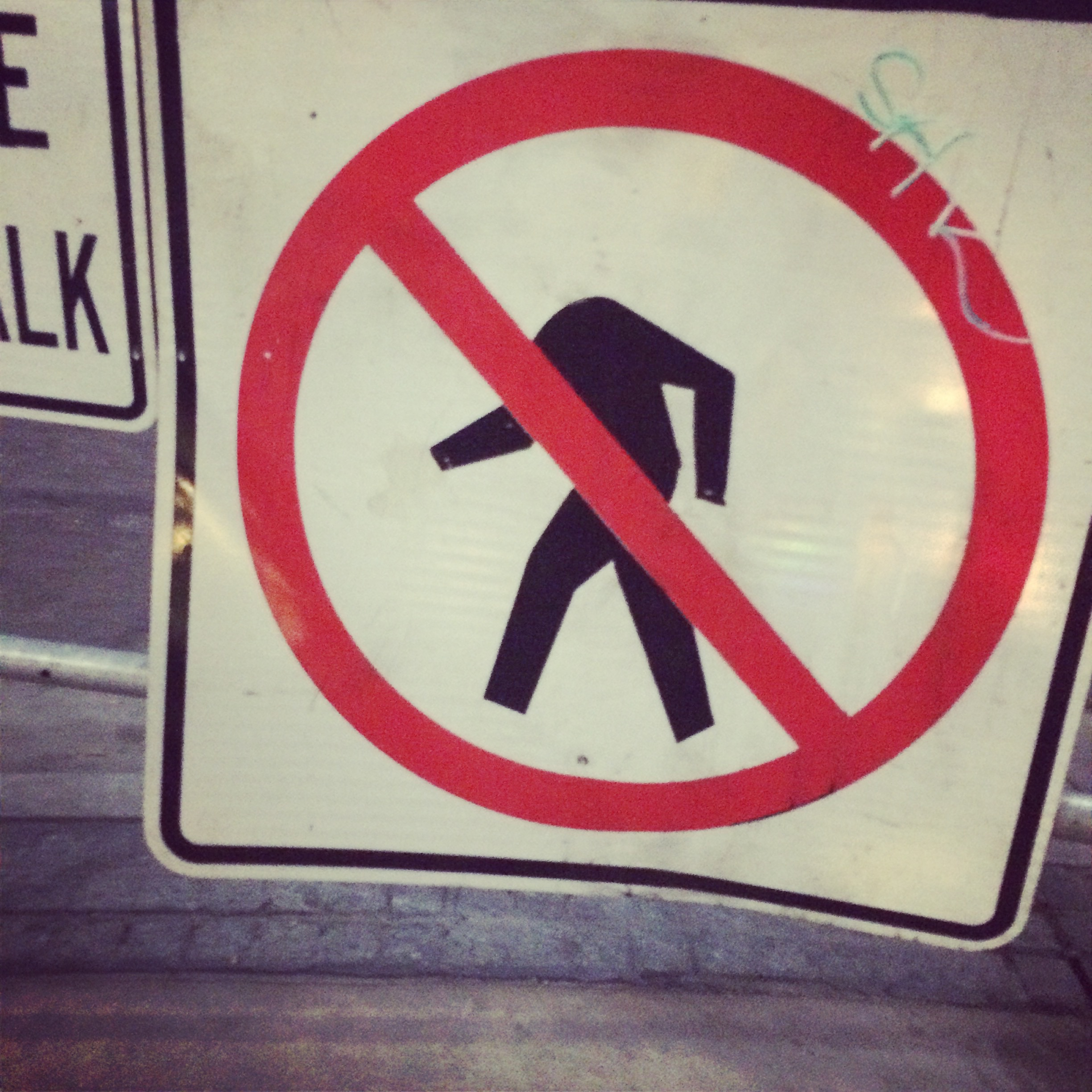 Headless walking