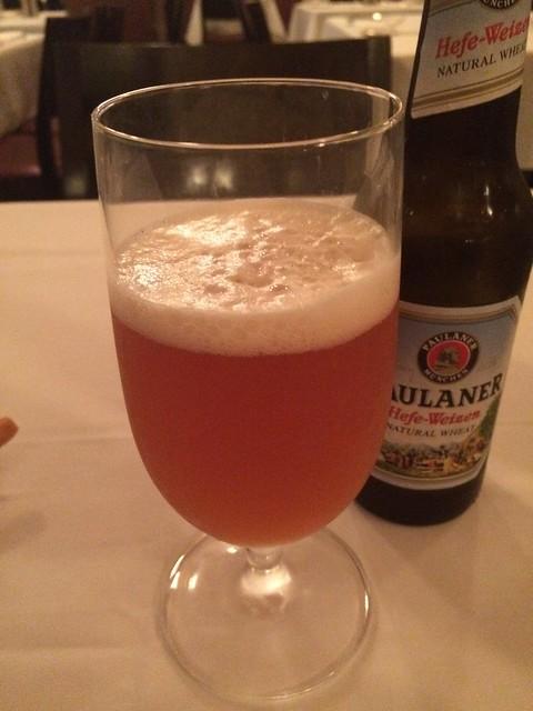 Paulaner hefeweizen beer - Perbacco