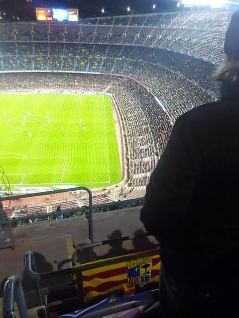 Alcorazados desplazamiento a Barcelona