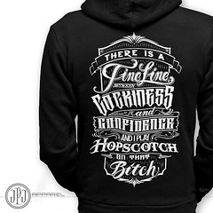 JPJ Apparel Hopscotch Hoodies available at JPJTattoos.com. Follow my full line of apparel @jpjapparel 100% Made in USA, hand printed on a manual press, printed on American Apparel Flex Fleece Hoodies.  Subscribe to YouTube.com/JPJTATTOOS  #americanmade #m