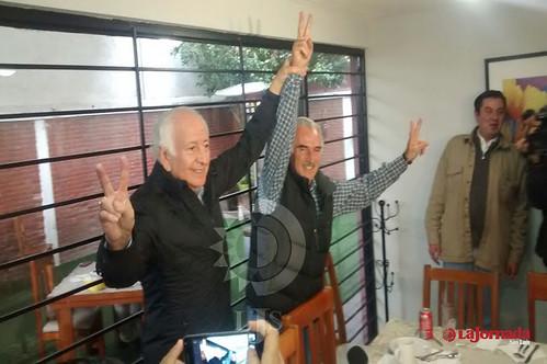 """Le """"levanta la mano"""" Marcelo de los Santos a Zapata: """"el es el bueno"""""""